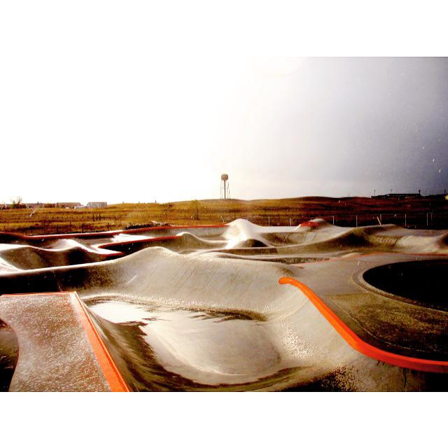 Thunder Park skate shapes