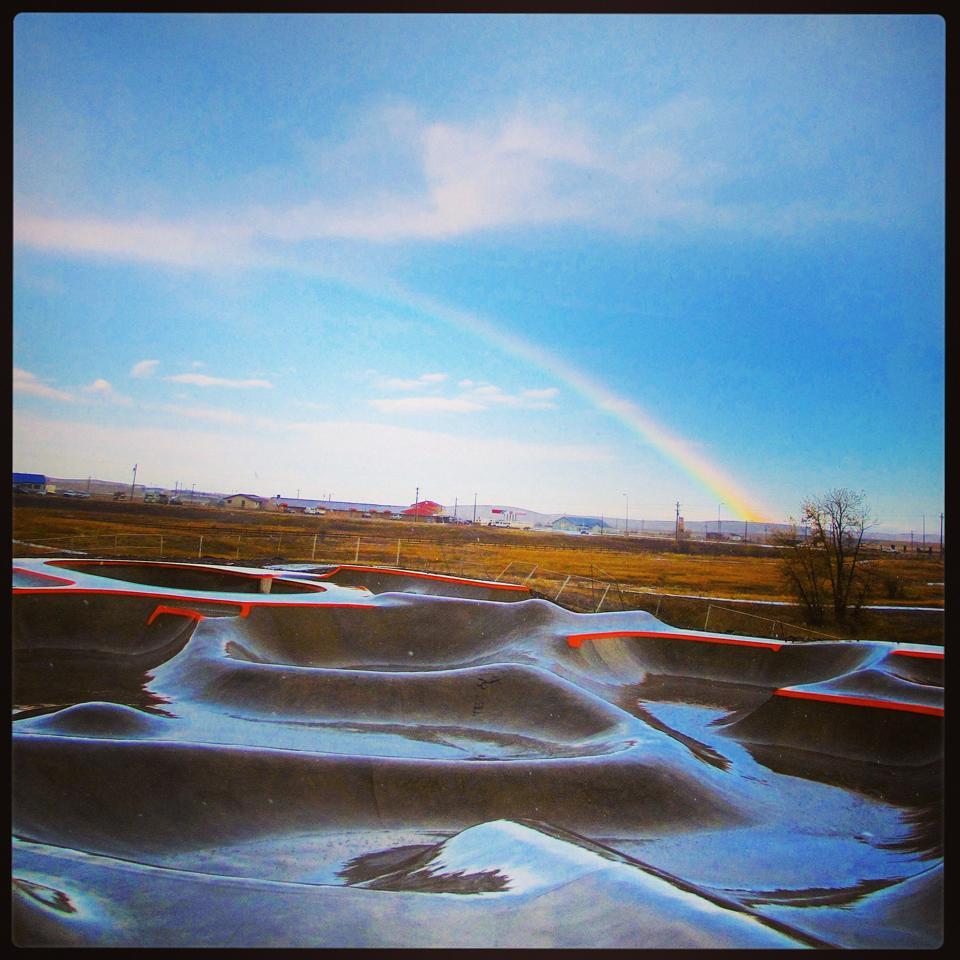 Rainbow over the Thunder Park