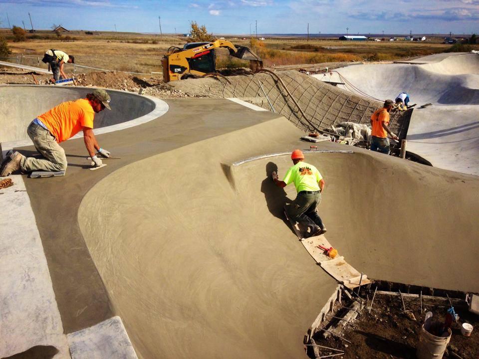 Thunder Park construction