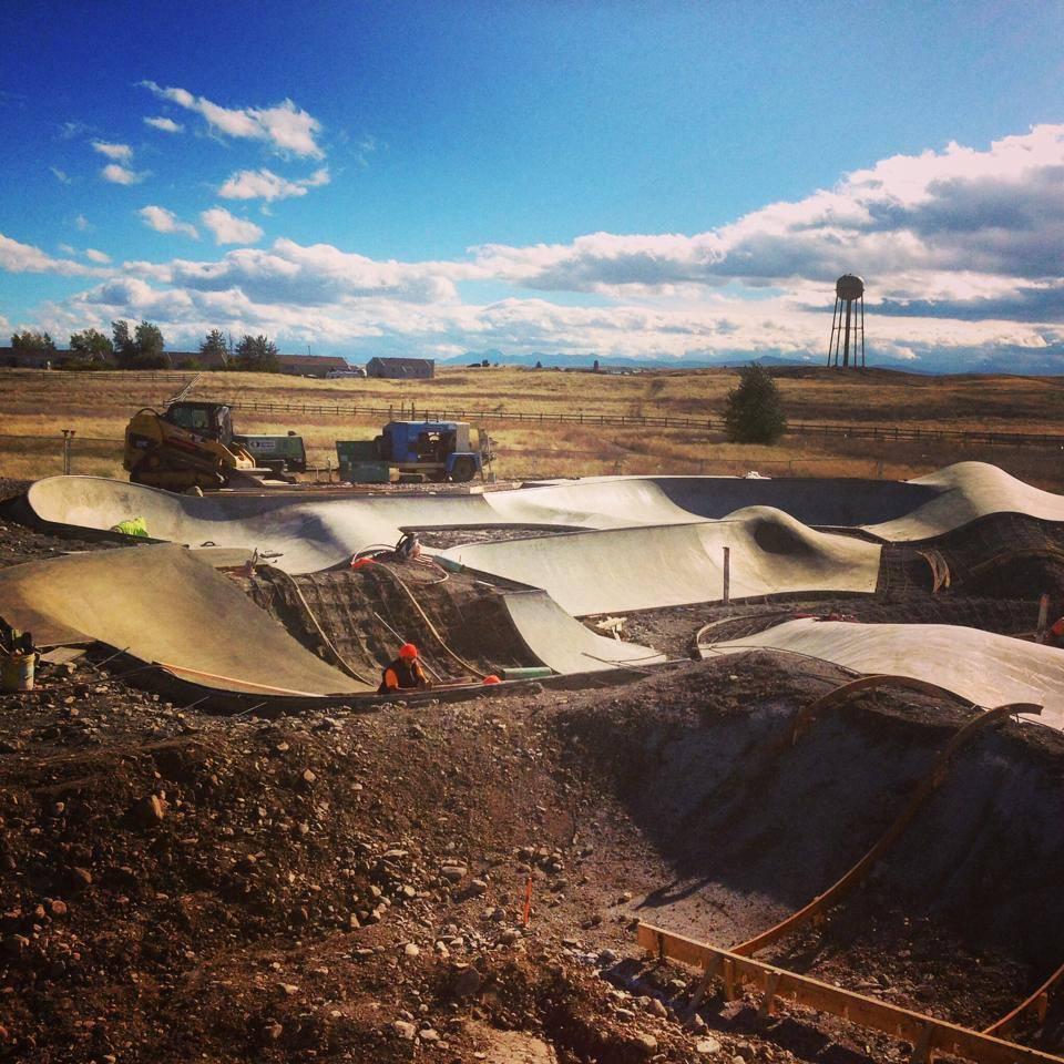 Blackfeet Skatepark taking shape