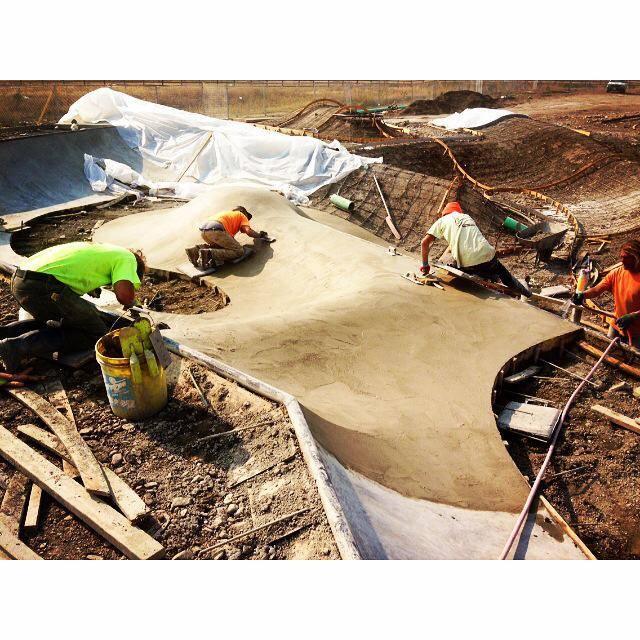 Evergreen Crew working hard in Browning, Montana