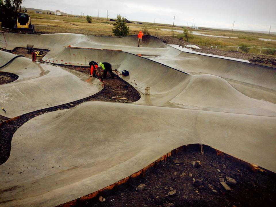 Blackfeet Skatepark - Browning, Montana