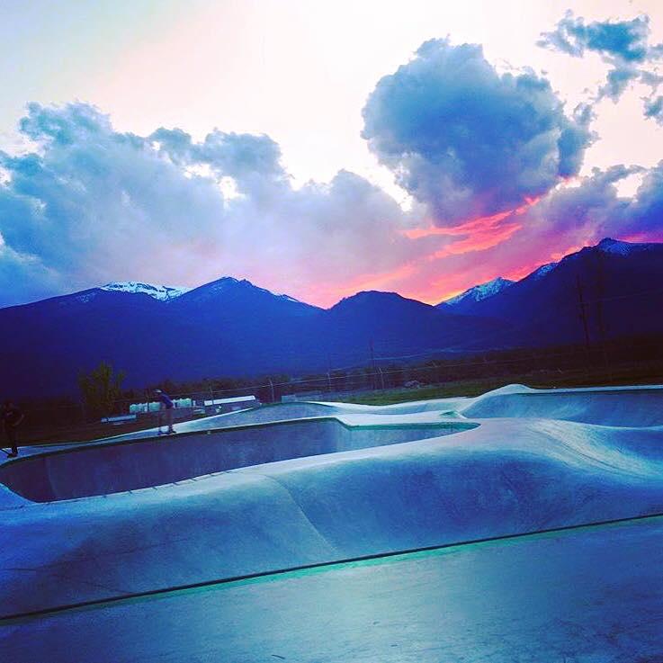 Stevensville, Montana Skatepark