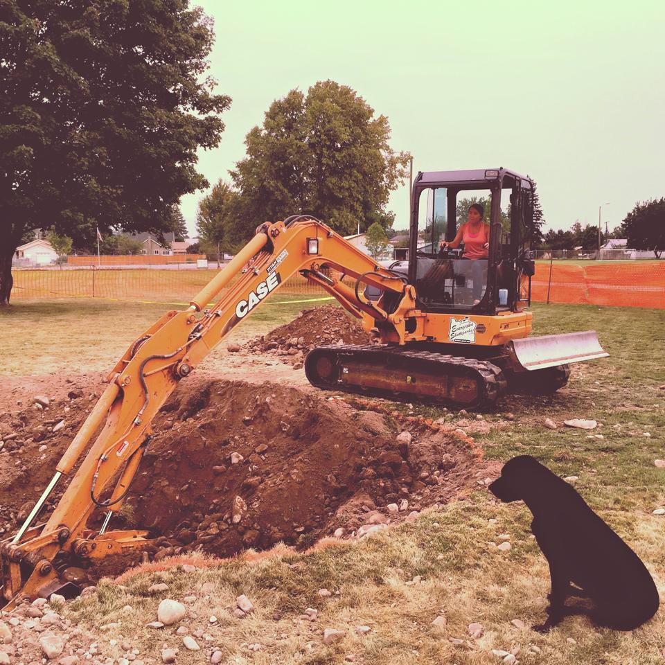 Light excavation