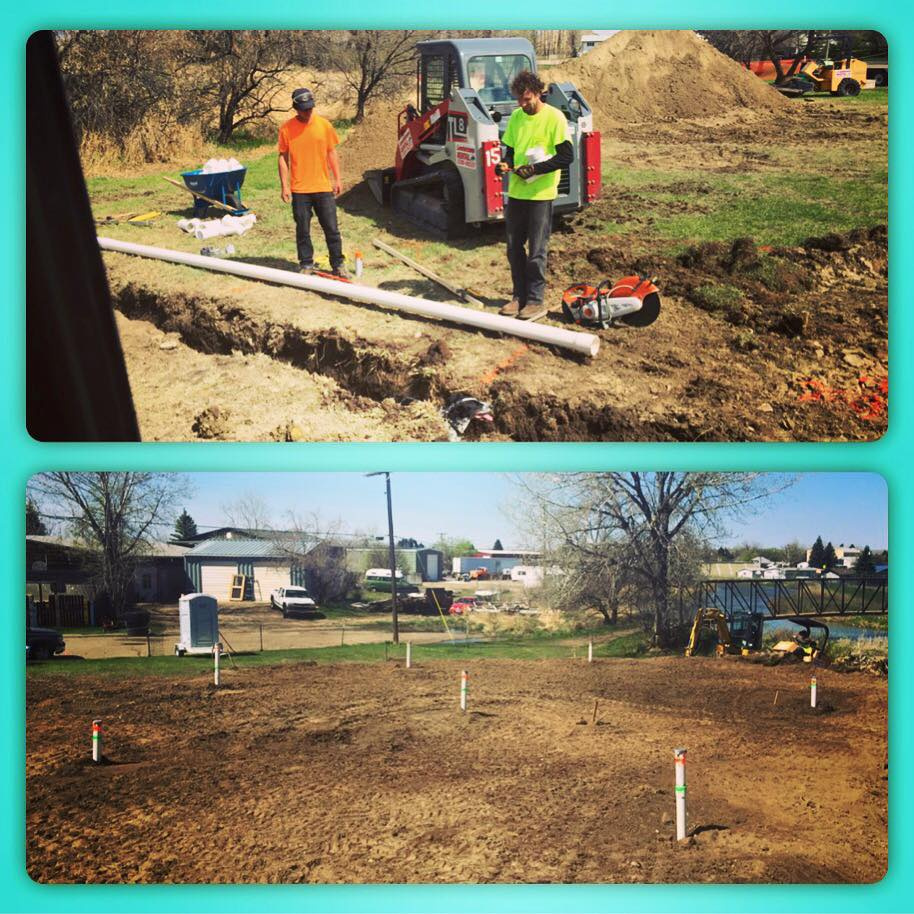 4,000 square feet with 7 drains!