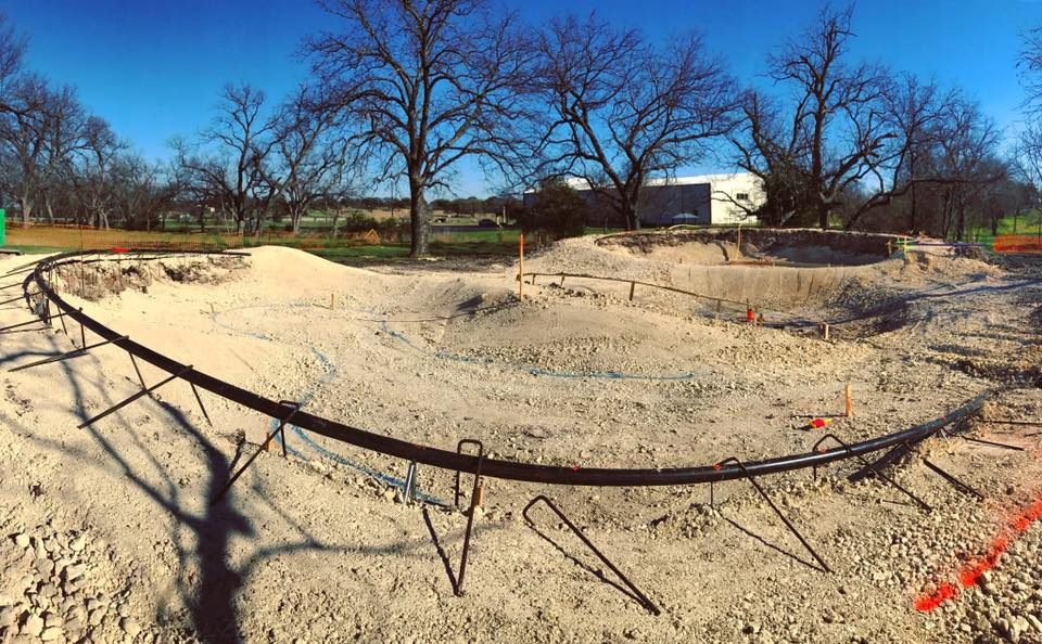 Johnson City, Texas Skatepark Construction