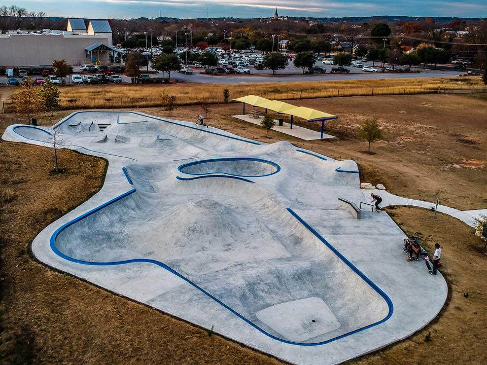 Fredericksburg, Texas Skatepark