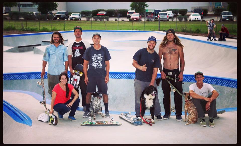Fredericksburg, Texas Skatepark crew
