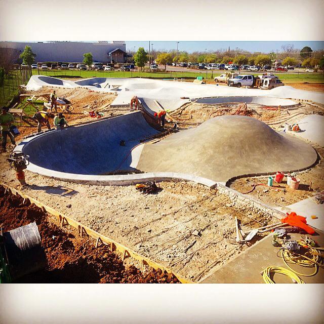 Fredericksburg, Texas Skatepark taking shape