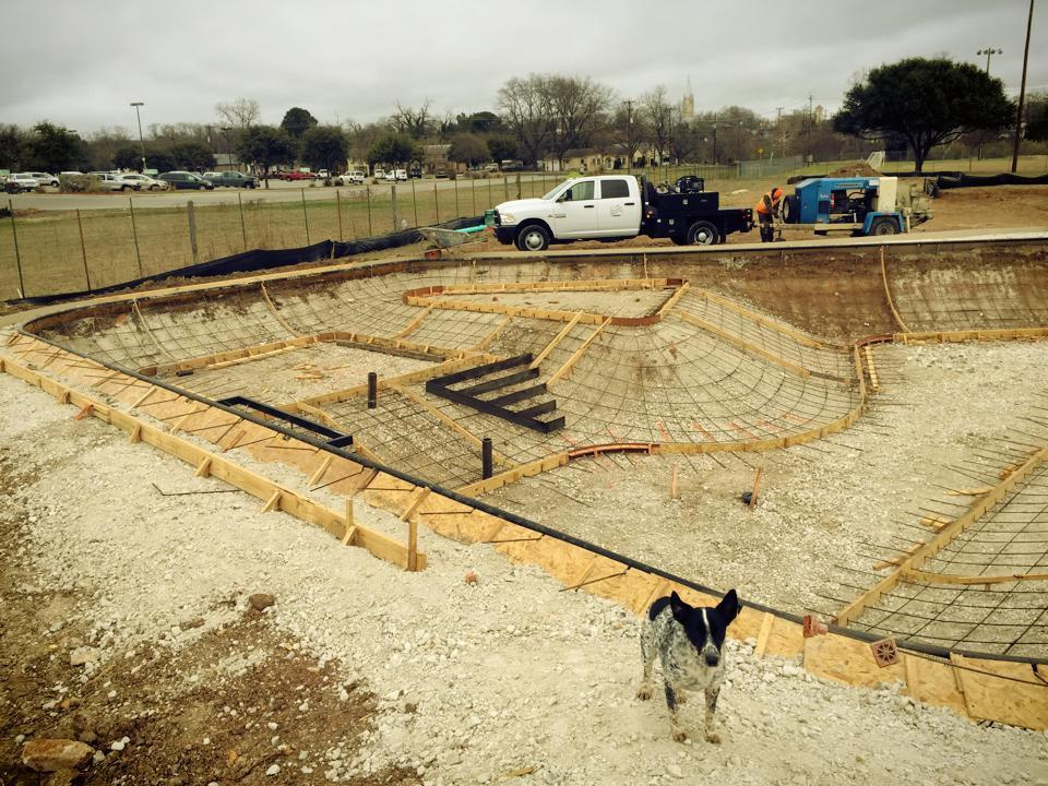 Project manager Noot takes inventory at the site