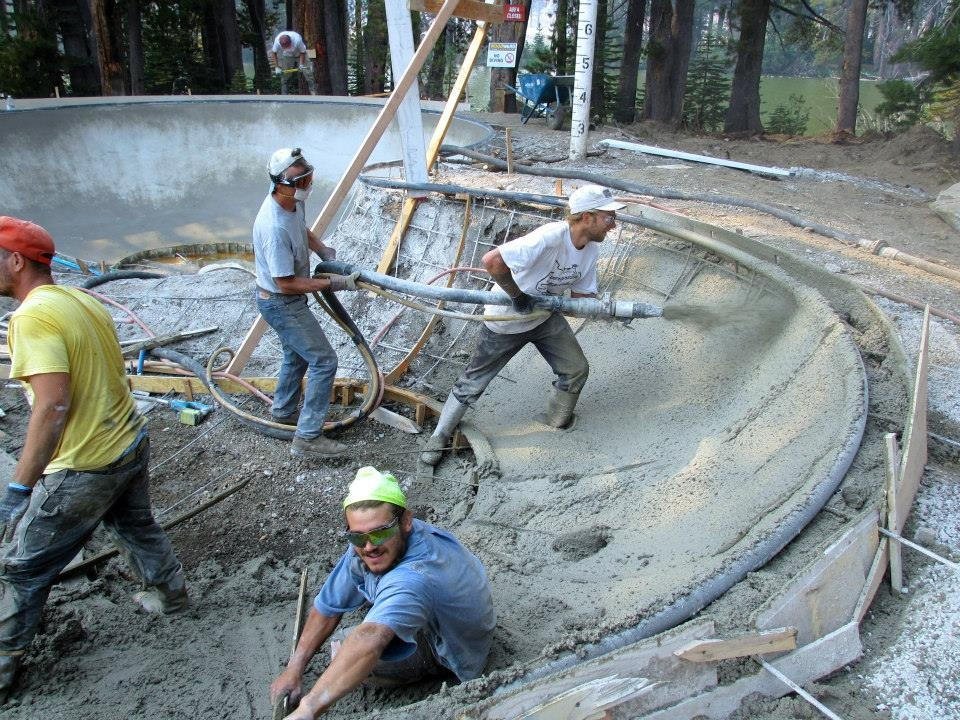 Woodward Tahoe Skatepark construction