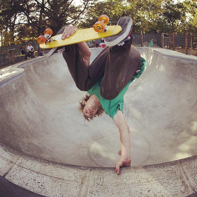 Willis Kimbel banana board invert