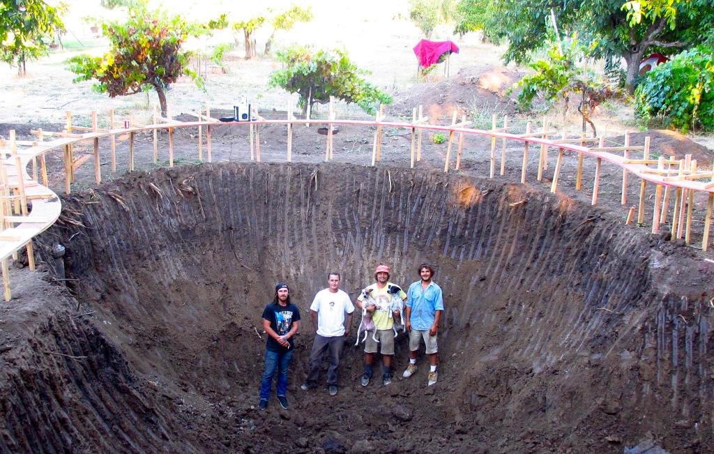 Sonoma Bowl construction