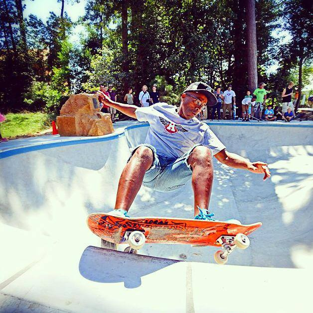 Chuck Treece frontside grind at the Epworth Skatepark - Rehoboth Beach, Delaware