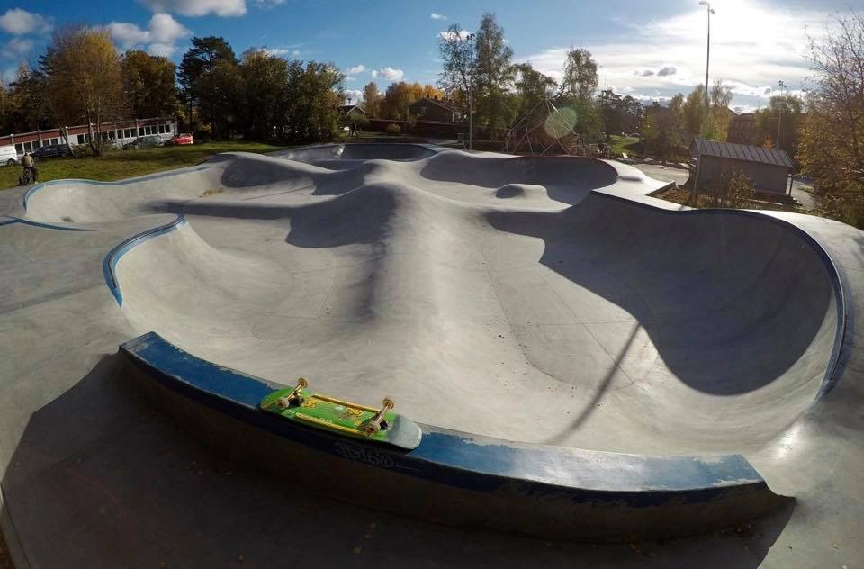 Stockholm, Sweden Skatepark