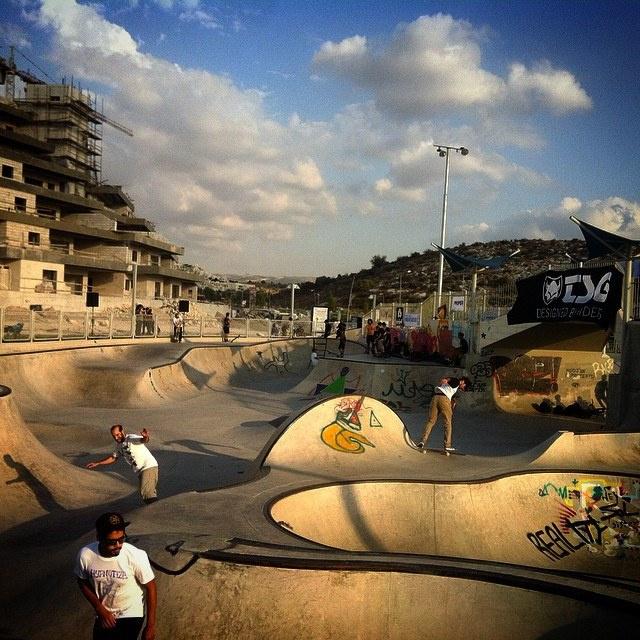 Modi'in, Israel skatepark