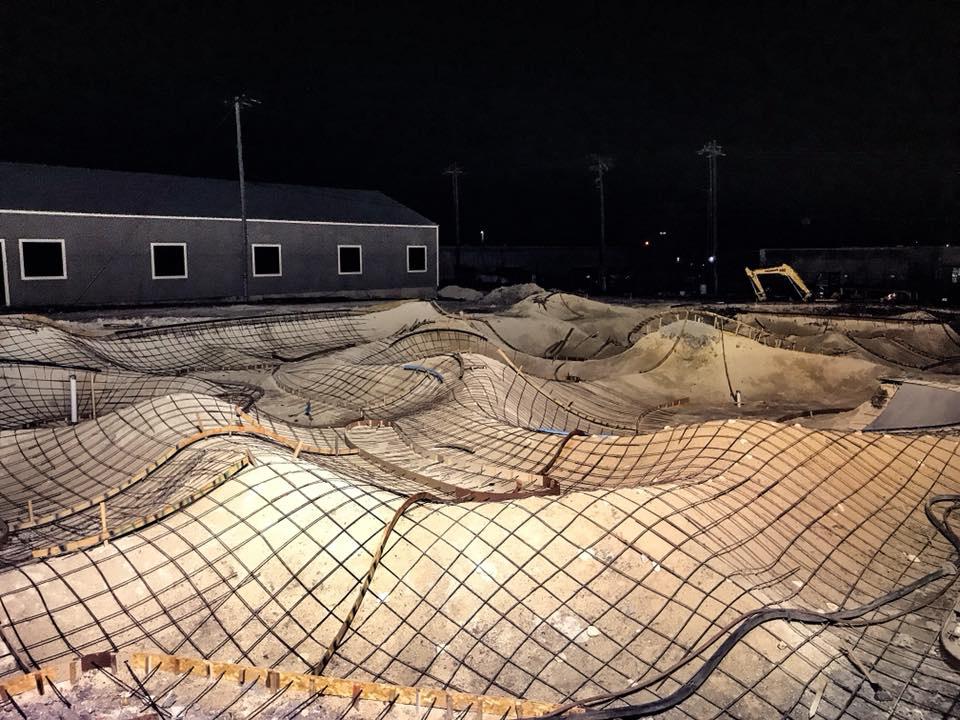 Taylor, Texas Skatepark Construction