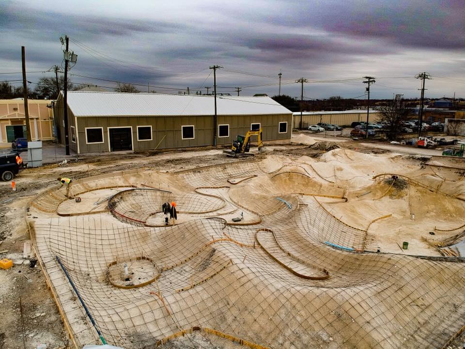 Downtown Taylor, Texas Skatepark