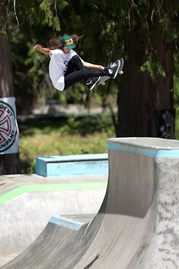 Cody Lockwood blasting