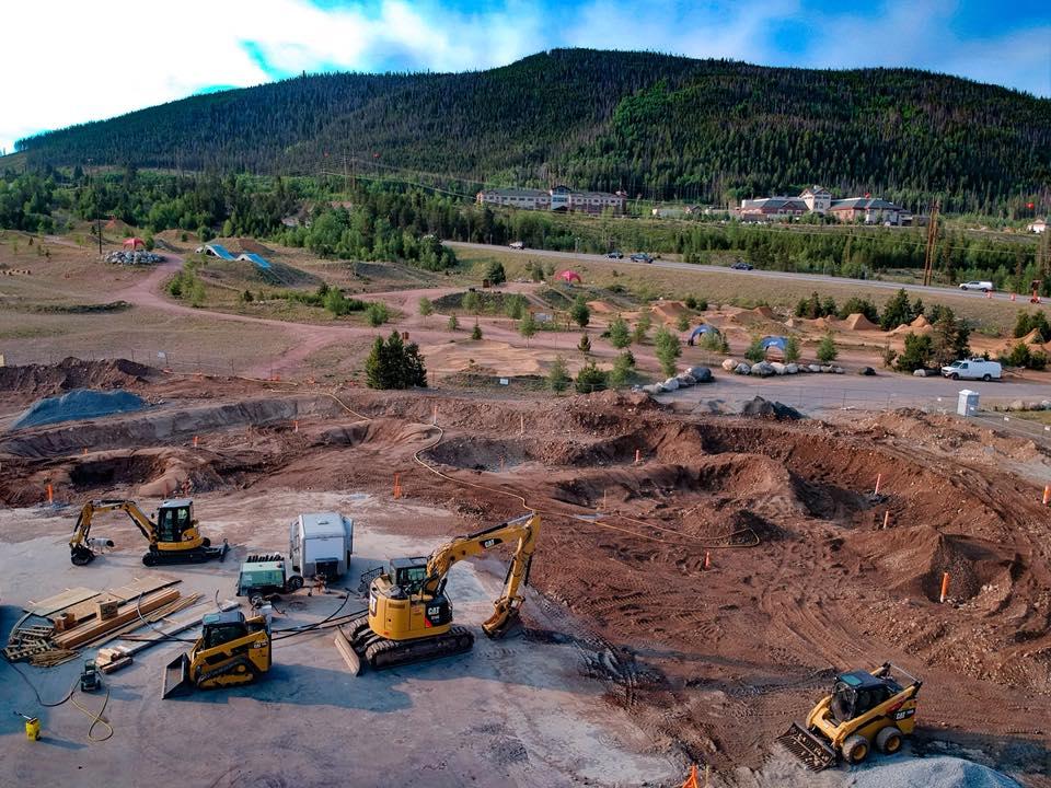 Massive dirt work in Frisco, Colorado