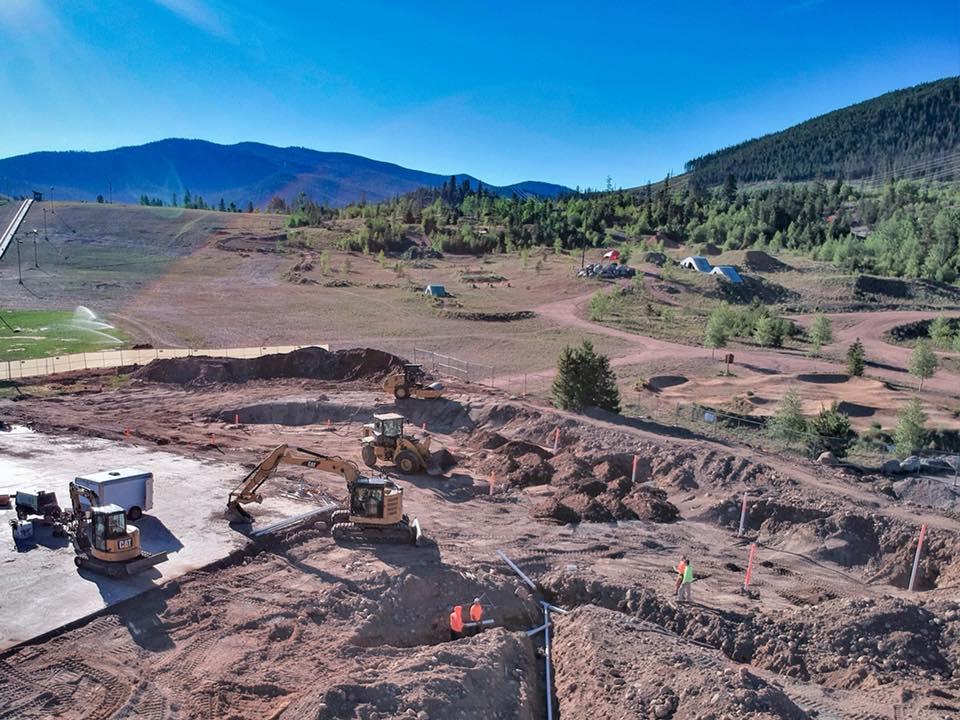 Frisco, Colorado Skatepark construction