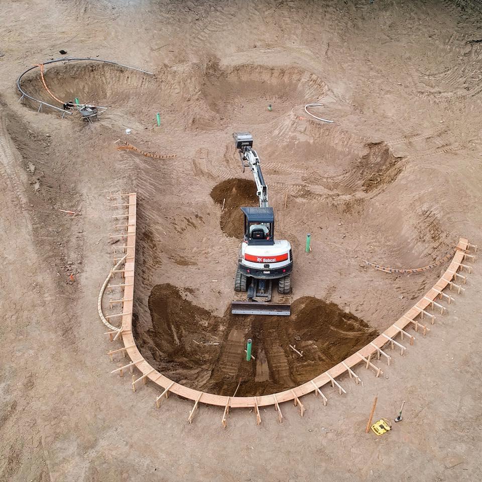 Coeur d'Alene, Idaho Skatepark construction is going down