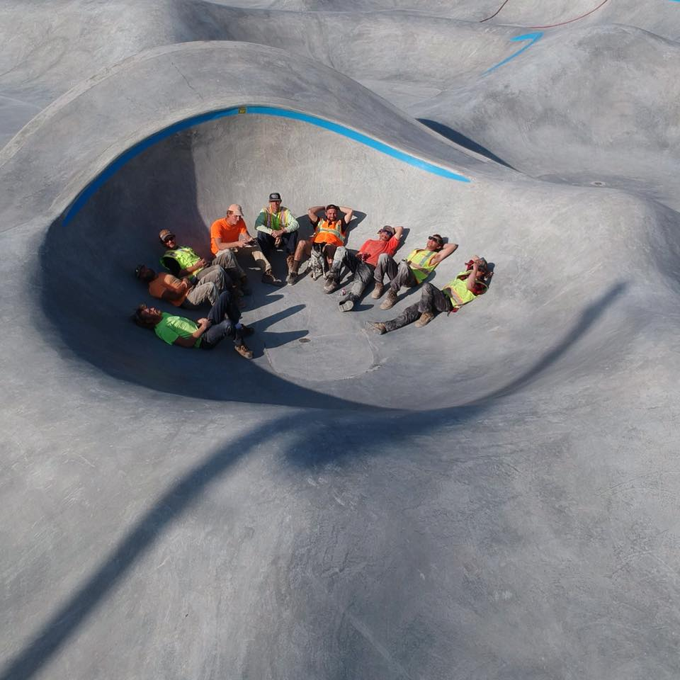 Taylor, Texas Skatepark crew
