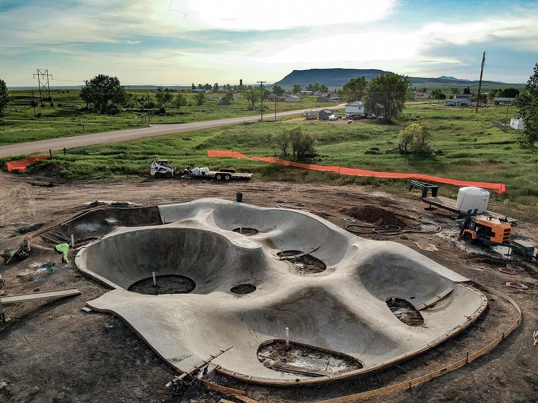 Box Elder, Montana rip ride