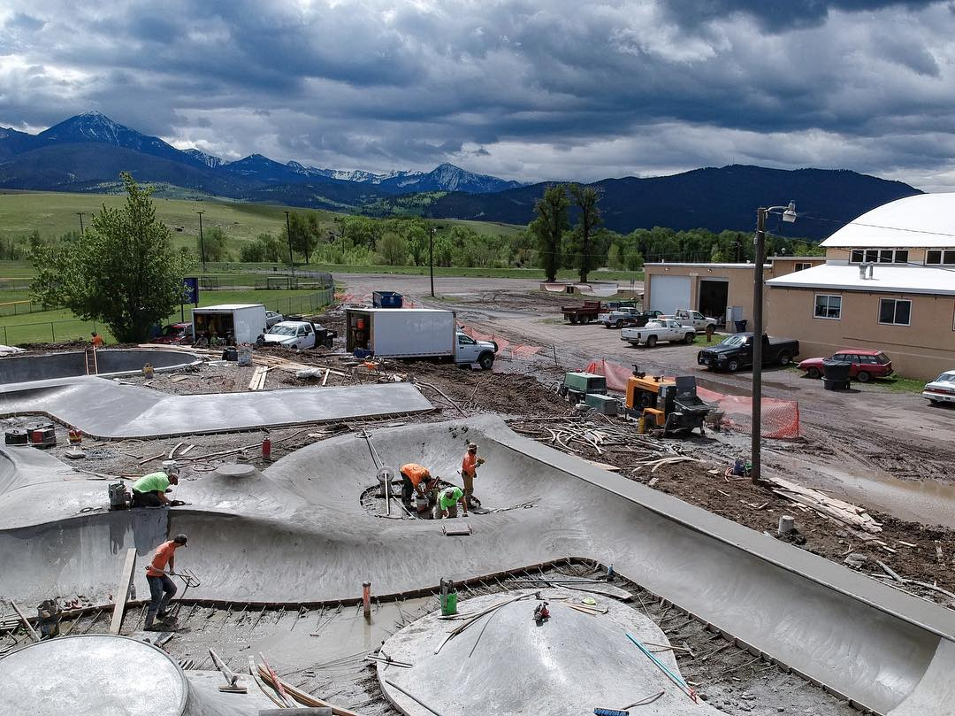 Fun zone in Livingston, Montana