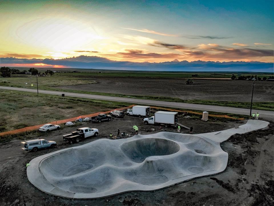 Box Elder, Montana Skatepark