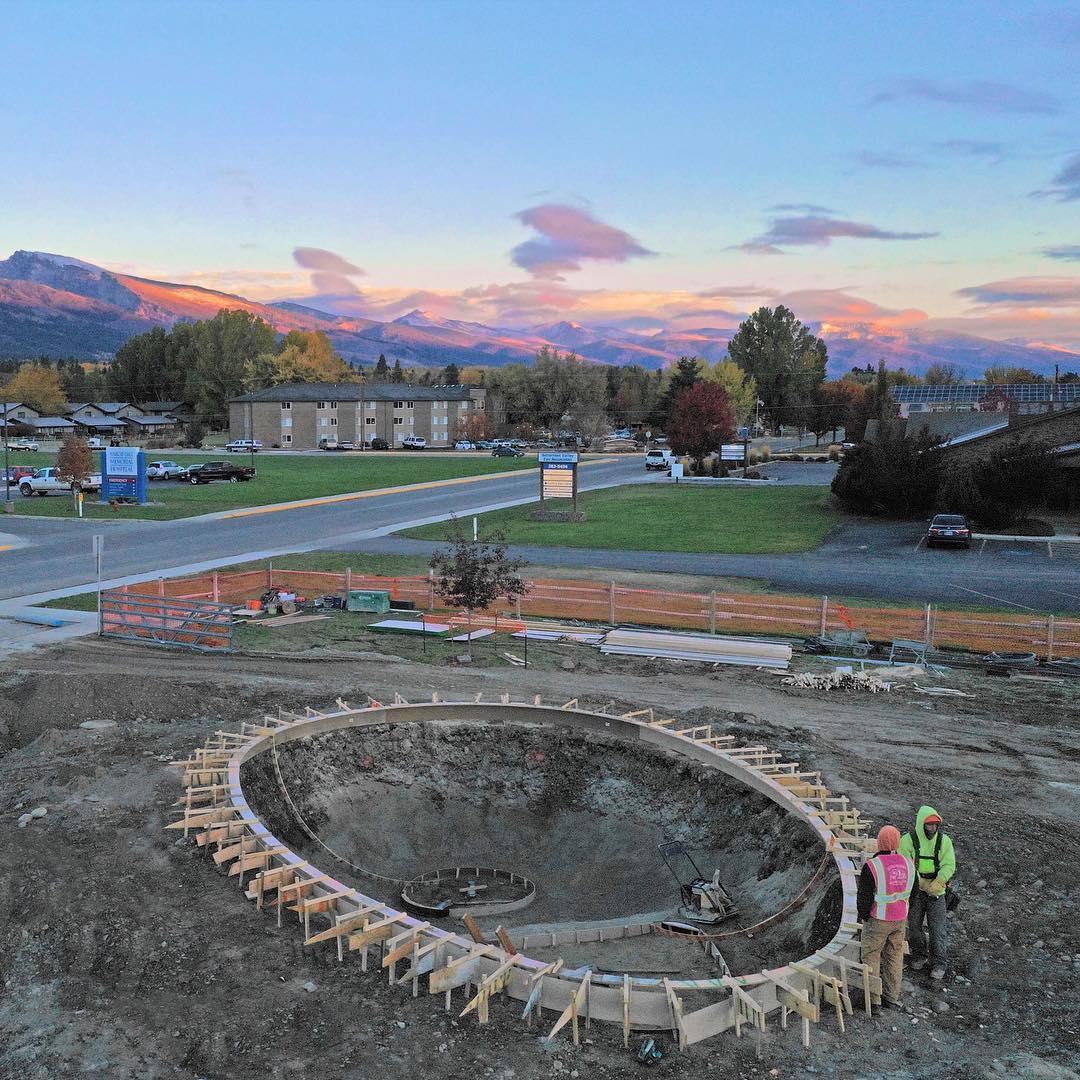 The Huevo 🥚 bowl. Hamilton, Montana.
