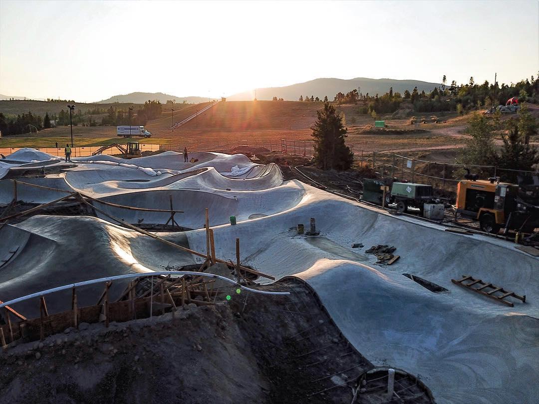 Concrete gone wild ⚡️Frisco, Colorado.