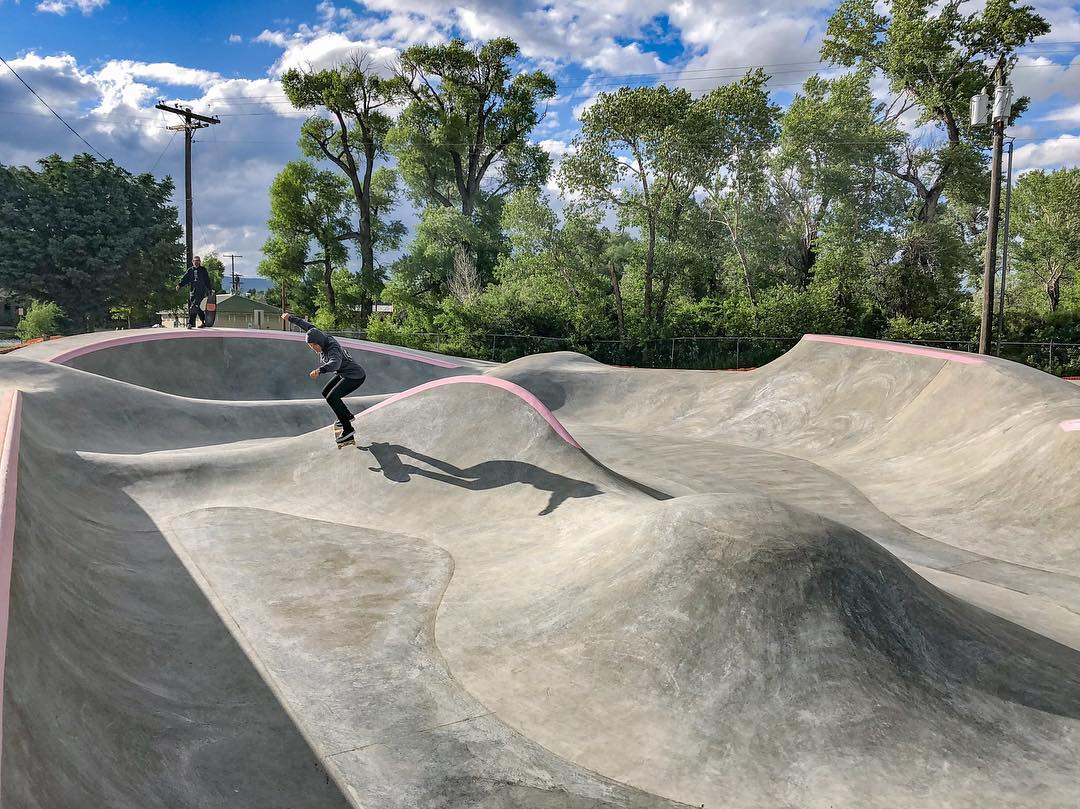 Bumps & jumps 😎 in Livingston, Montana 💅🏼