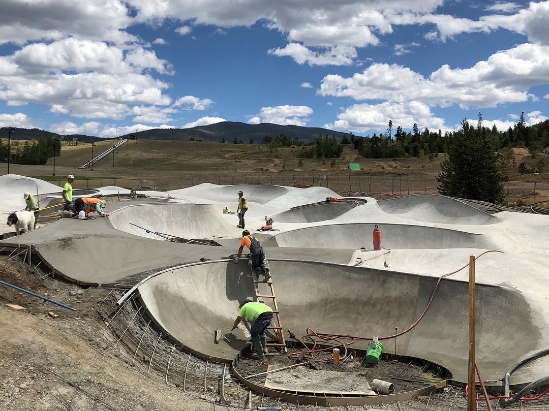 Concrete for days 😎 Frisco, Colorado