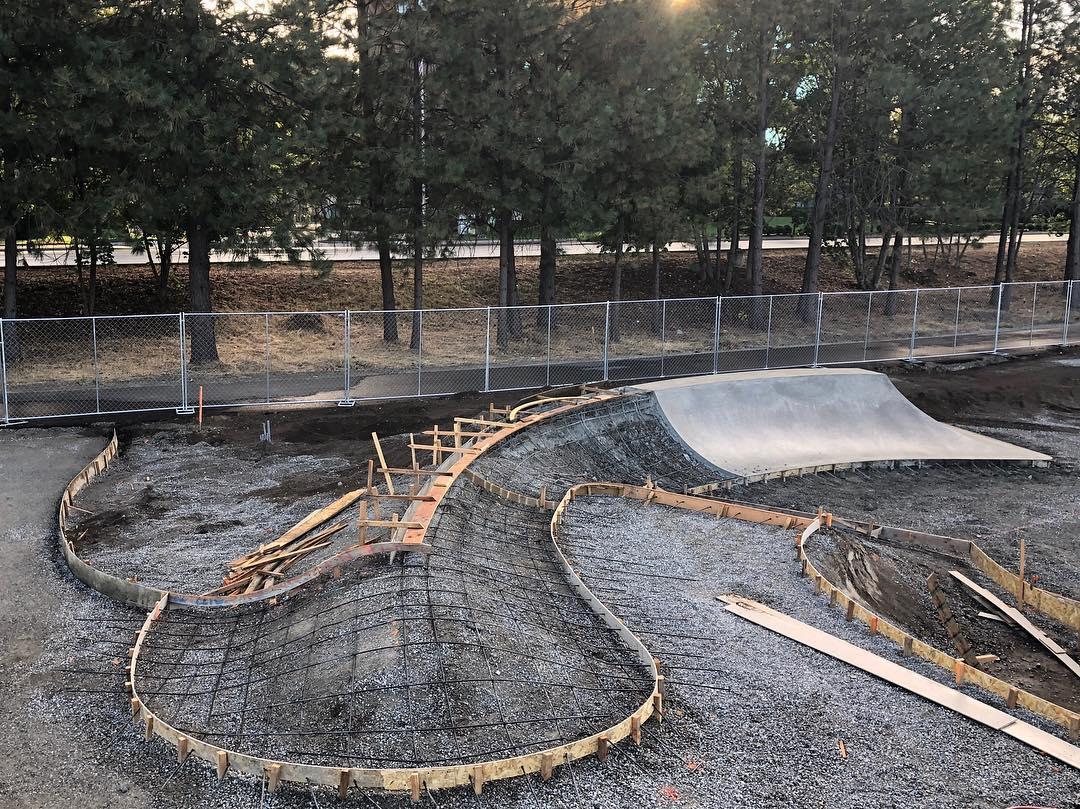 Skate shapes at Coeur d'Alene, Idaho