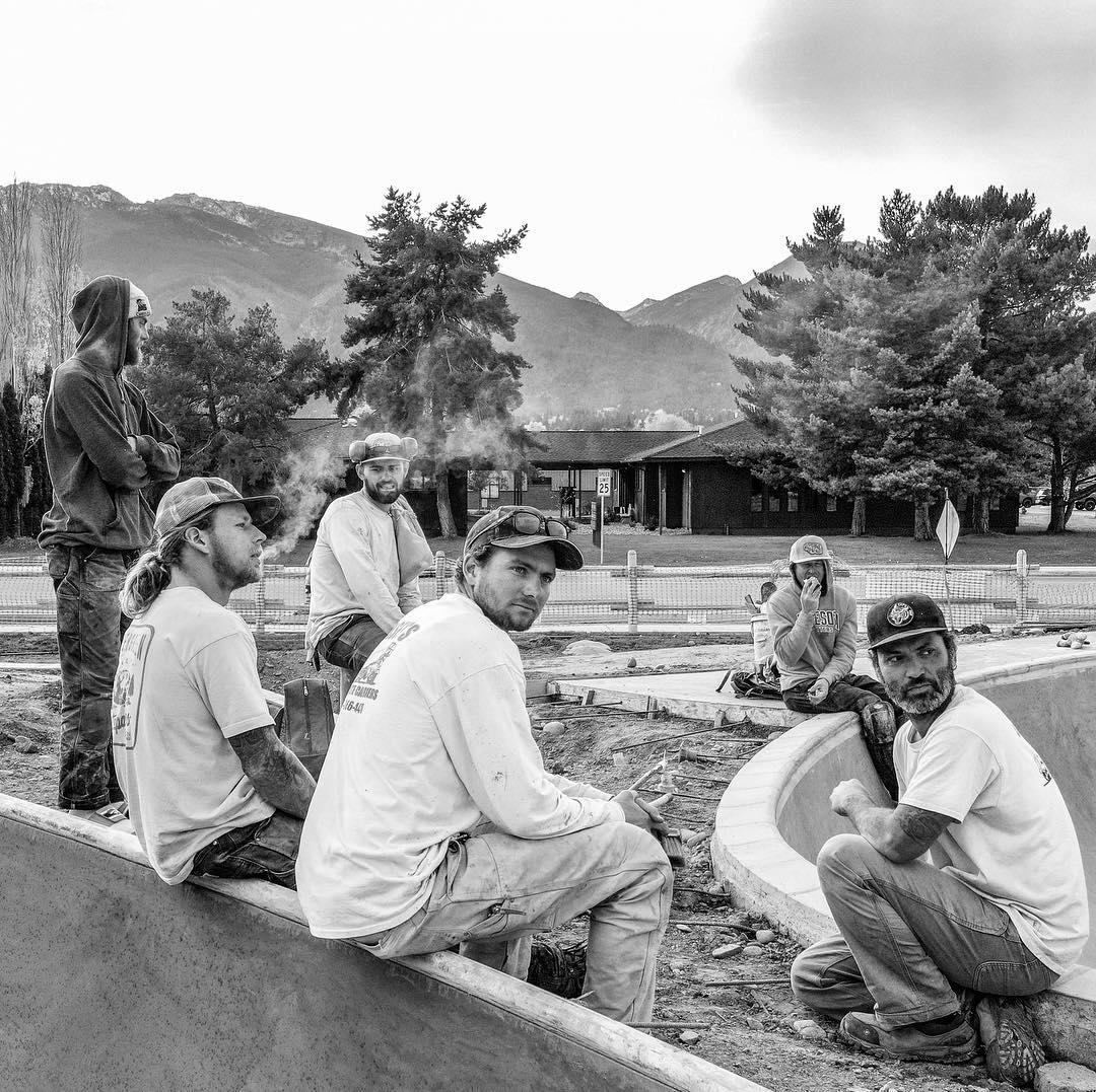 Men of Evergreen 🌲 2018. Hamilton, Montana crew.