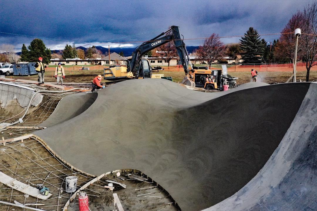 Bumps & jumps in Hamilton, Montana