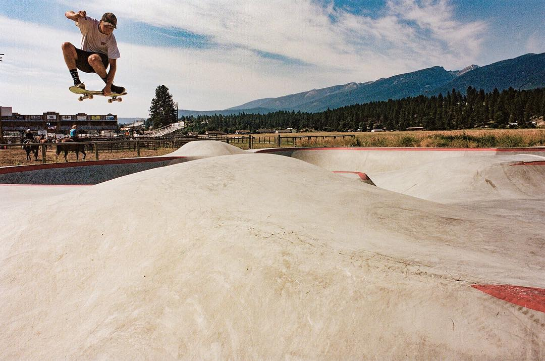Looking forward to spring & summer skate sessions in Montana