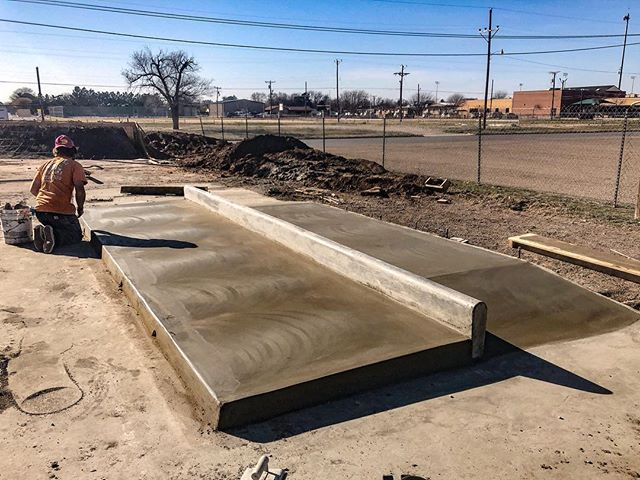 🍞 Idalou, Texas 🤠 Skatepark recycling ♻️ #idalouskatepark #texasskateparks 📸 @benhlavacek