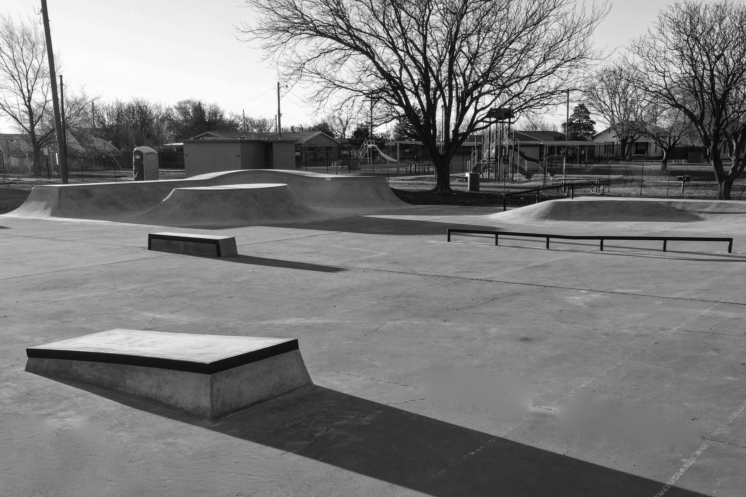 Idalou, Texas Skatepark ☀️a fun little park & another example of one of our #skateparkrecycling ♻️projects