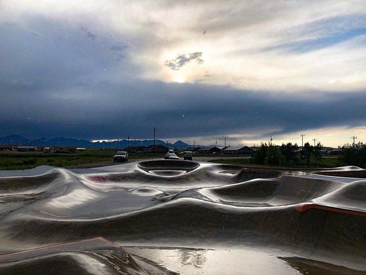 Evergreen Skateparks — Thunder Park, Browning, Montana