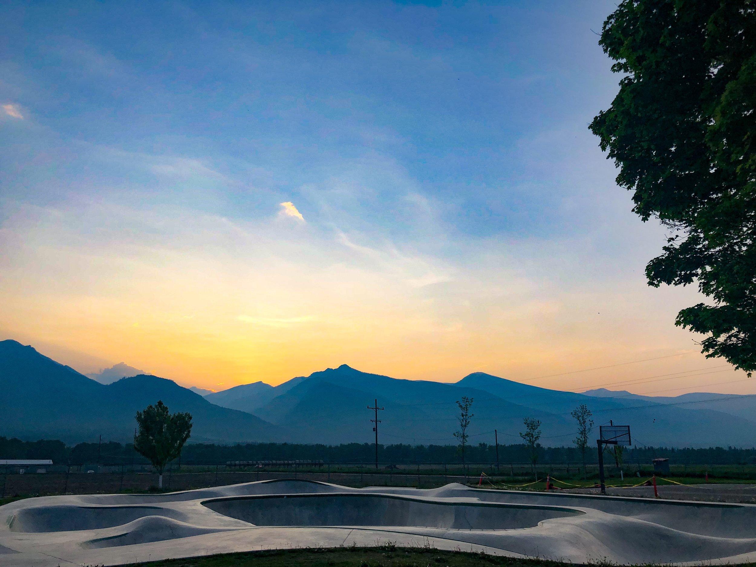 Big Sky Country Skateboarding 🌄 Stevensville, Montana.