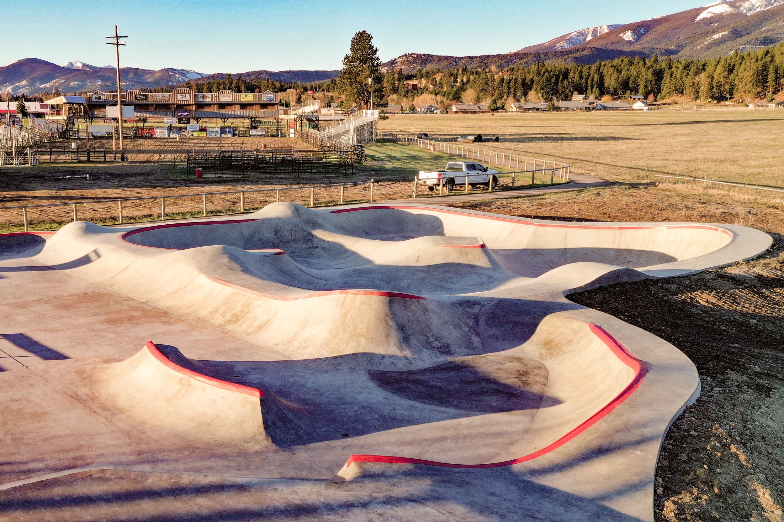 his spring we got to create a fun addition to the Darby, Montana skatepark 😎 courtesy of @mtskateparkassociation