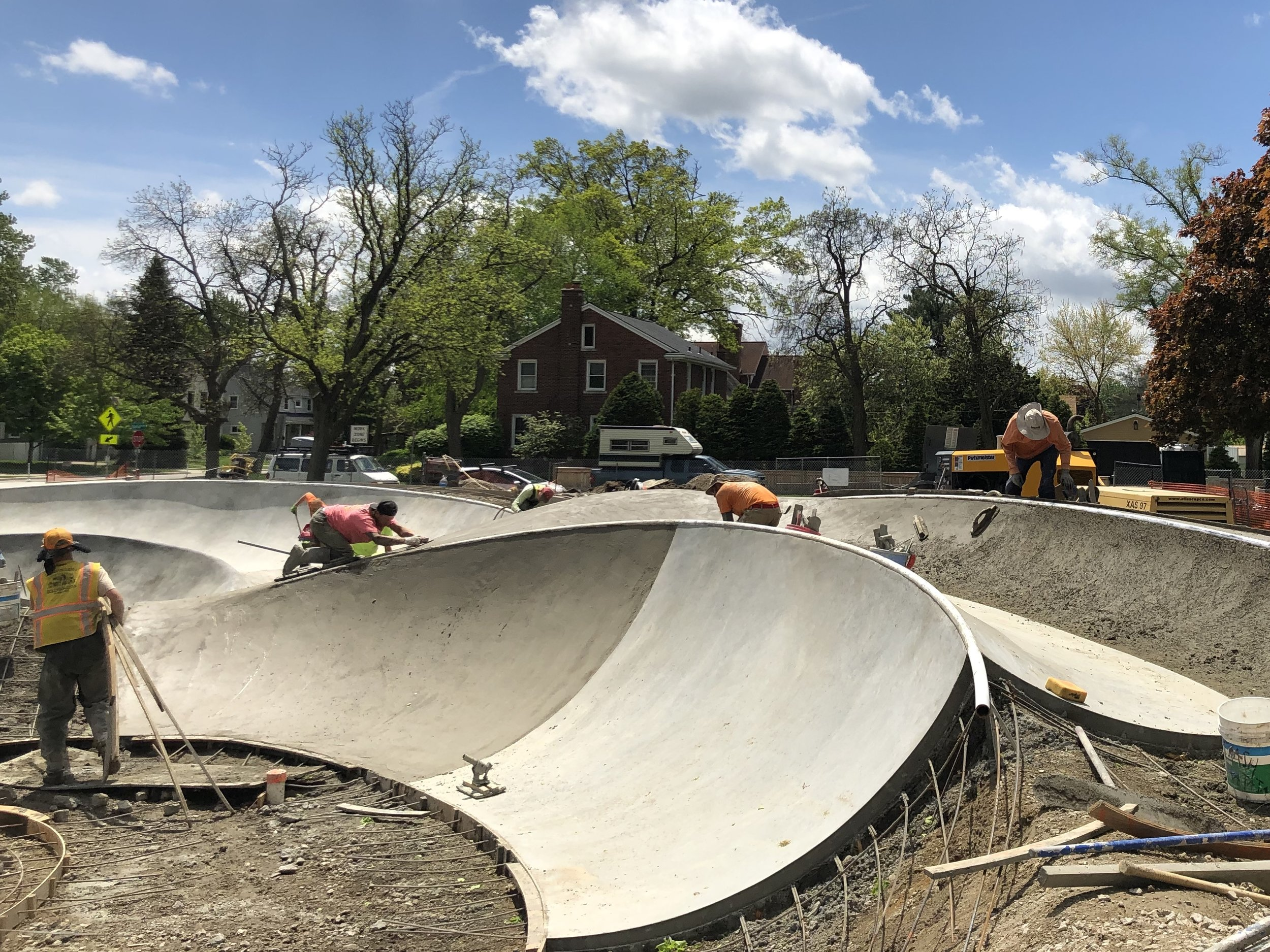 Did you know there is a skatepark renaissance going on in Michigan? 💪🏽💯We've built 6 parks there over the last few years making it one of the Midwest's best #skateboarding destinations 😀