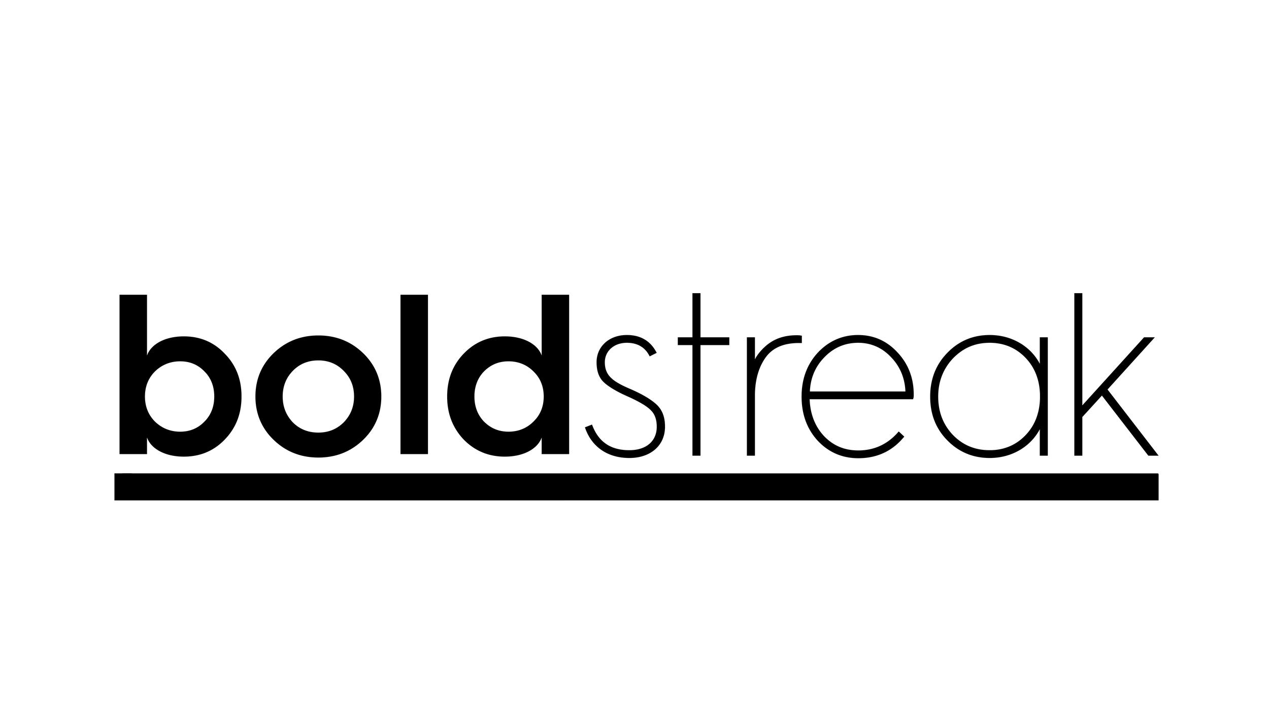 boldstreak logo b&w - black underline.png