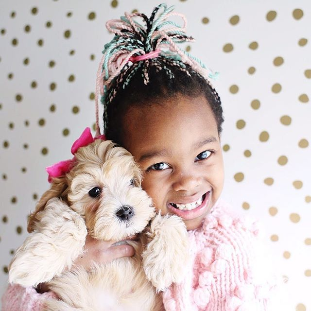 We can't decide what's cuter: Miss Libby or Tootsie 😍 #Boldstreak ⠀ • • • @livesweet • • • ⠀