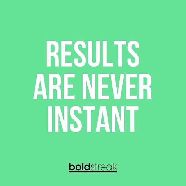 Developing an engaged online community and establishing your brand takes TIME. Growing your likes and comments takes TIME. Improving your style, content, and presence takes TIME. Results are never instant - not in real life and not online. True long-lasting impact and legacy takes years to cultivate... Ask Beyoncé 😉 #BeBOLD #StayConsistent #Boldstreak ⠀