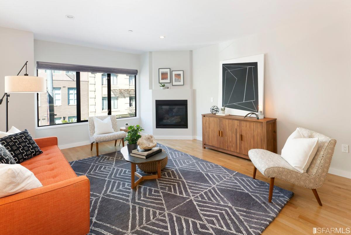 1151 Sutter Street #301  2 Bed | 2 bath | Sold for $1,100,000
