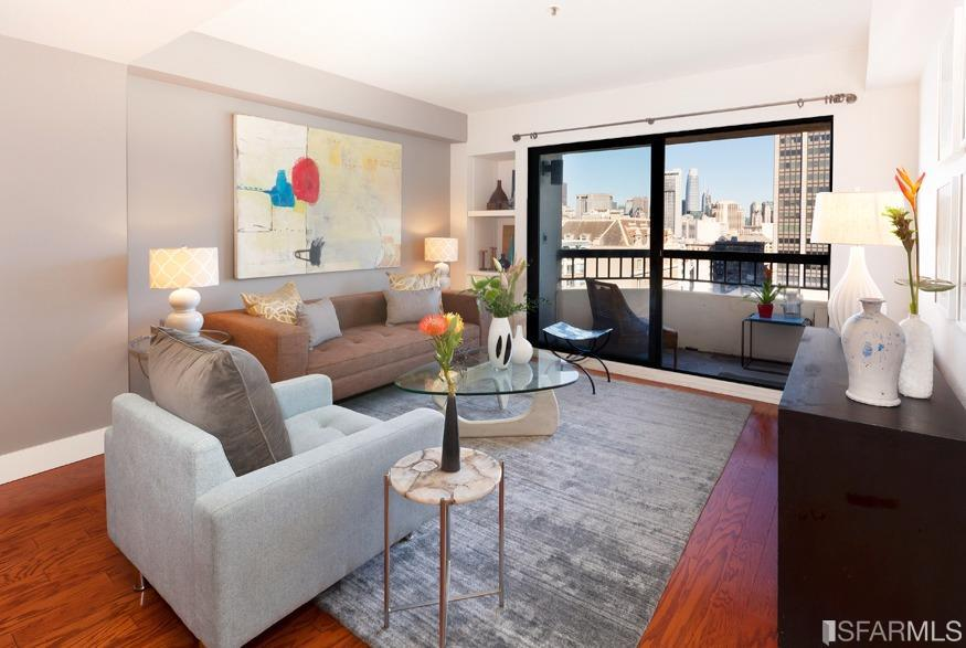 601 Van Ness Ave #802  1 Bed | 1 bath | Sold for $654,000