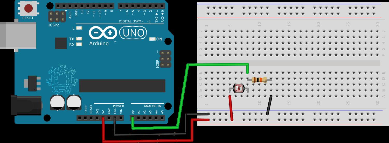 Arduino - fotoresistencia.